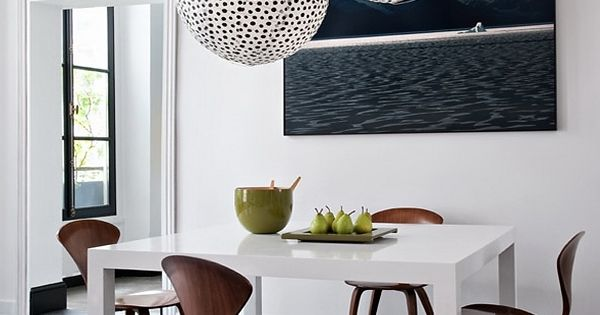 Modern dining rooms are easy to get. Find the perfect chandelier, a