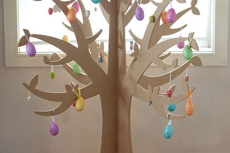 3D Cardboard Tree | 3d tree...could do for fruit of the ...