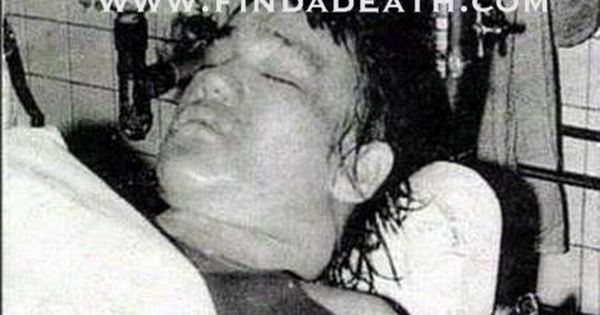 Image result for images of bruce lee in morgue