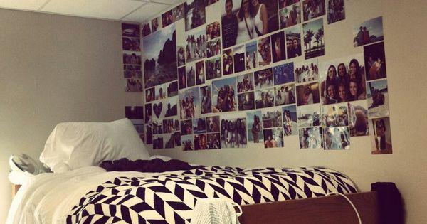 Dorm ideas the pictures grunge bedroom pinterest for Decorar habitacion residencia universitaria