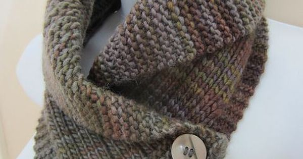 Shawl Collared Cowl knitting pattern and more cowl knitting patterns, many fr...