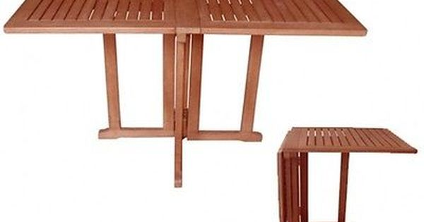 Balkontisch Balkonklapptisch Klapptisch Balkon Tisch Gartentisch Eckig Holz Gartenmobel Holz Balkontisch Gartentisch