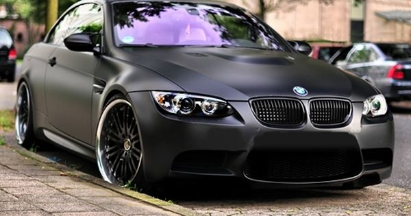 Matte Black M3 looks awesome in person