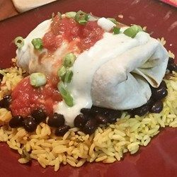Chicken Chimichangas With Sour Cream Sauce Mexican Food Recipes Cooking Recipes Recipes