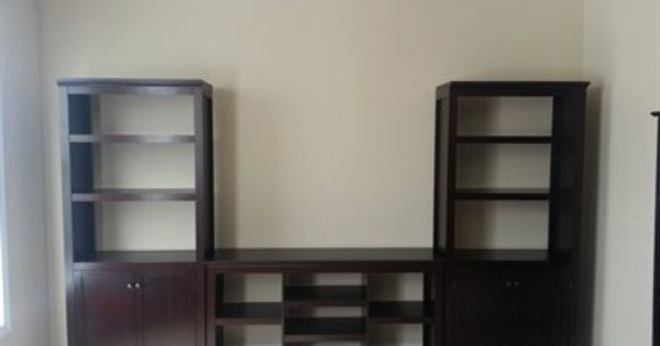 threshold carson 3 shelf bookcase white 1