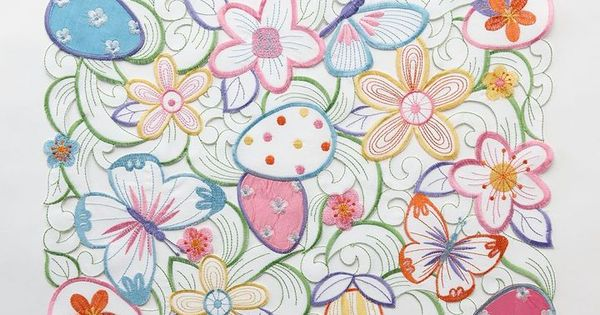 Blossoms Amp Blooms 174 Easter Cutout Placemat On Shopstyle