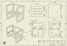 Chaise Cube Evolutif Cube Chair Montessori Furniture Diy Chair