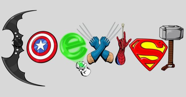 Coexist DC Marvel Superheros