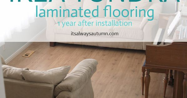 Ikea tundra laminate floor review one year later for Ikea tundra