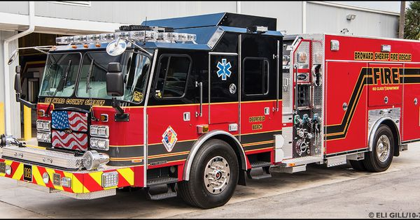 Broward County Fl Sheriff Fire Rescue Engine 102 Pierce Rescue