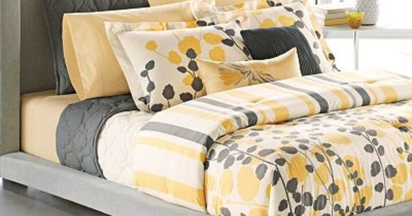 Want this color scheme for my next comforter set! Sheek with a