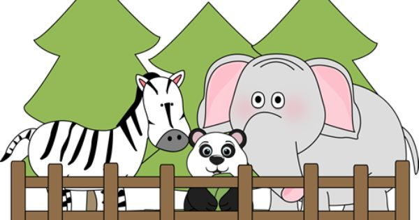 Free Zoo Clipart Zoo Clipart Kids Zoo Kids Wall Murals