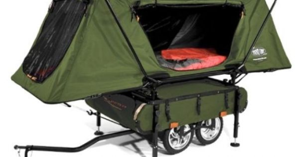 Midget Bushtrekka, an innovative pop up camper ... Need this for pulling
