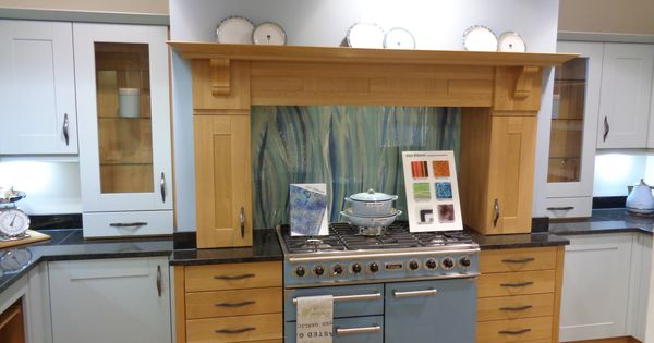 This Is Our Bluegrass Splashback Design Going Beautifully With The Blue Falcon Cooker In A