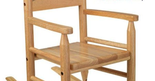 KidKraft 2 Slat Rocker Natural 18121 Natural Products and Rockers