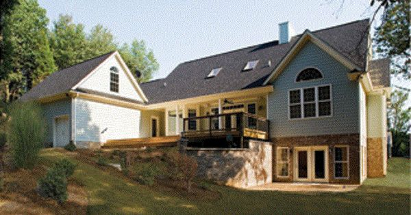 Ranch house plans with walkout basement home design for Daylight basement ranch house plans