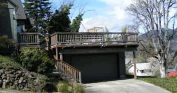 Deck over garage carport ideas for the house for Carport deck combination