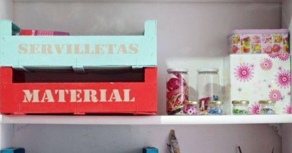 Coole bastelideen organizer ideen heimwerken pinterest for Kinderzimmer organizer