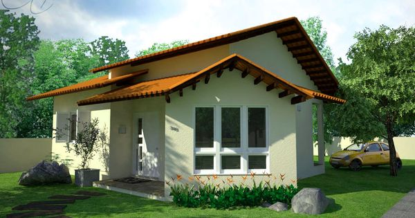 Casas De Campo Pequenas Estilos Architectural Elements Spanish Bungalow Small House