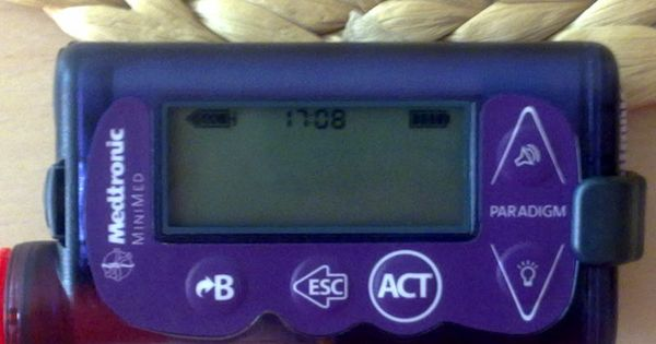 Insulin pump Medtronic Paradigm Veo 754 | Diabetes ...