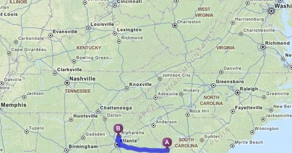 Official Mapquest Maps Driving Directions Live Traffic >> Keith Urban Concert Driving Directions from 815 River View