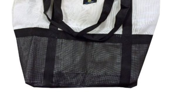 Deluxe Oversized Mesh Heavy Duty Beach Gym Tote Bag