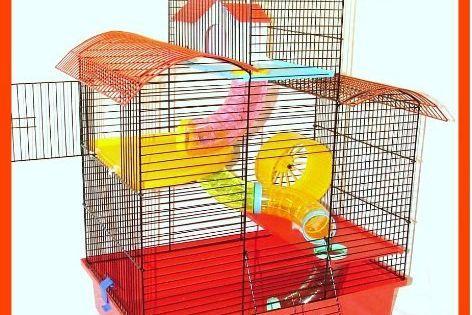 Belmont Hamster Cage Large Multi Level Mouse Gerbil Click Image
