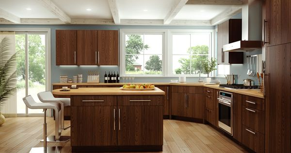 Cornerstone kitchens in red oak canyon creek for Canyon creek kitchen cabinets