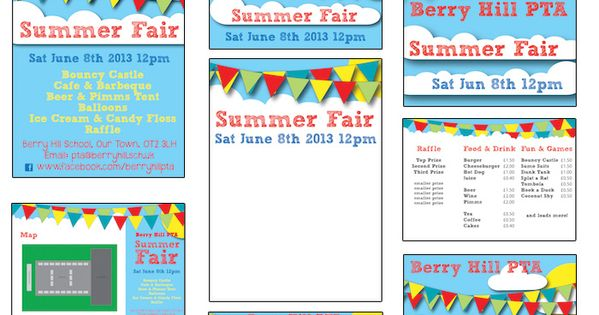 Summer Fair - Published PTA Templates and Poster Kits ...