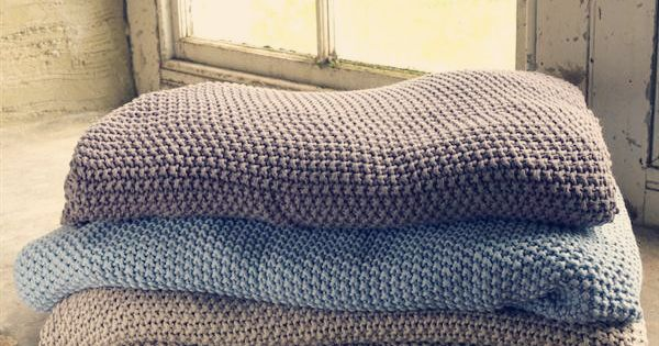 Moss Stitch Throws Lovely Soft Cotton Throws Great For