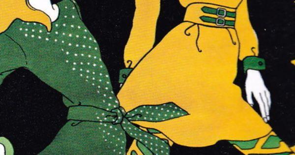 Wild hair by Antonio Lopez (1967)