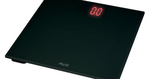 American Weigh Scales Zt150bk Digital Glass Top Bathroom Scale With Red Lcd And 330pound Ca Bathroom Scale Digital Scale Bathroom Best Bathroom Scale