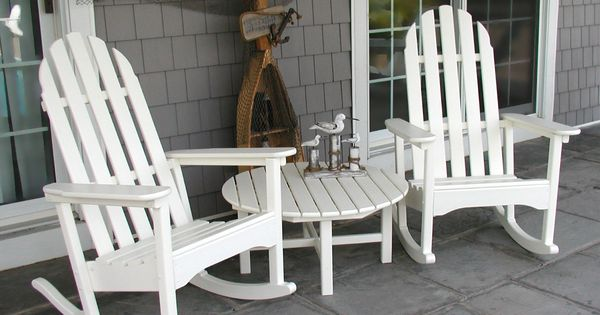 Adirondack Rocking Chairs. Durable outdoor furniture made from ...