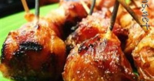 Bacon Wrapped New Potatoes | Favs | Pinterest | Bacon Wrapped, Bacon ...