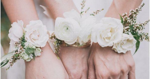 wrist corsages for the bridesmaids //edyta szyszlo photography | repin via: one