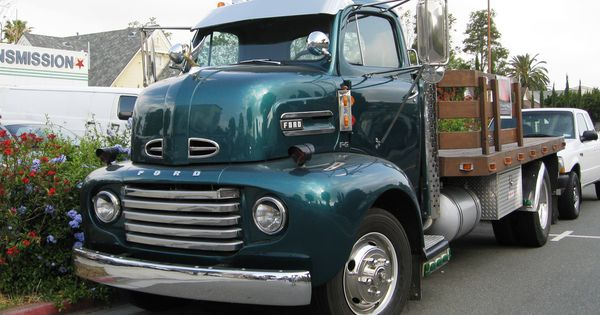 ford 1948 1950 f 6 coe truck garage pinterest orange california ford and ford trucks. Black Bedroom Furniture Sets. Home Design Ideas