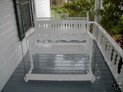 Victorian Porch Swing With Foot Pedal With Images Victorian Porch Swings Porch Swing Farmhouse Porch Swings