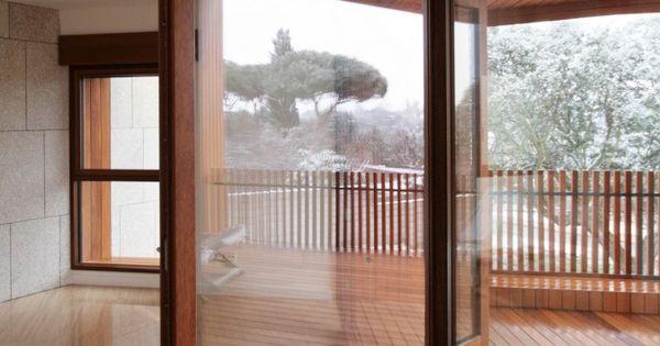 Pivot door at Studio Dwelling, Architects: cmA Arquitectos. Location: Boadilla del Monte,