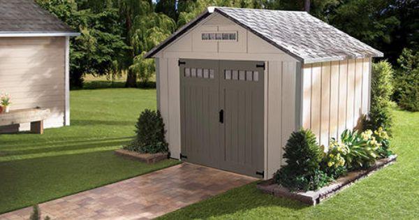 Homestyles Premier 10 X 8 Shed At Menards Backyard Sheds Outdoor Sheds Garden Storage Shed