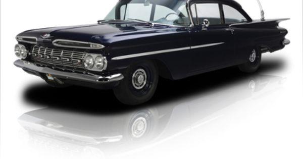 1959 Chevrolet Biscayne Blue Autos Chevrolet Autos
