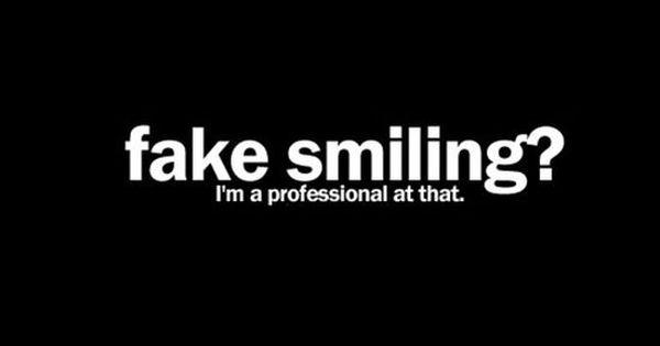 Fake Smiling Quotes Depressive Dark Emo Sad Sad