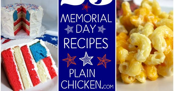 memorial day best recipes