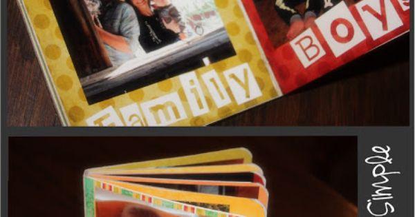 Dollar tree book + mod podge = DIY board book