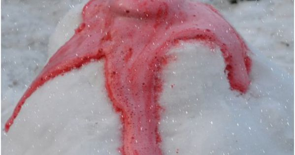 how to make snow without baking soda