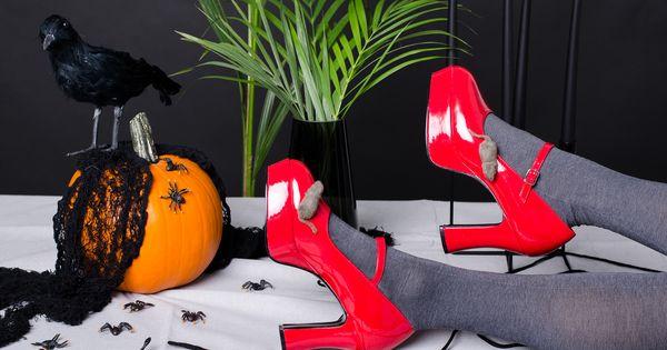 Halloween Party Partybox Pl Kruk Pajaki Myszy Buty Fun Halloween Party Halloween Fun