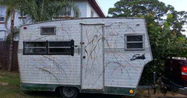 Vintage 1976 Shasta Camper Travel Trailer Project 850 With