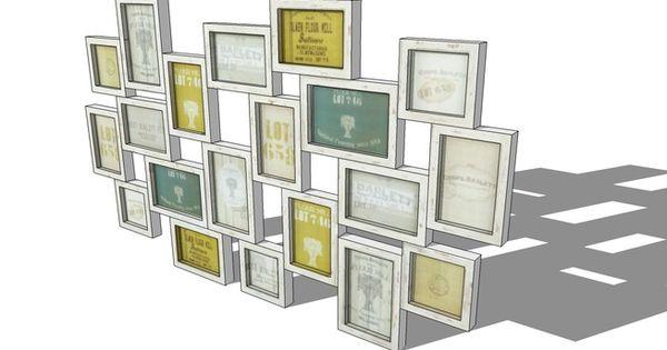 cadre multivues memories maisons du monde ref 138860 prix 59 90 3d warehouse 3d. Black Bedroom Furniture Sets. Home Design Ideas