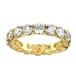1.00 Karat Memoire Diamantring 585er Gelbgold | Diamantring