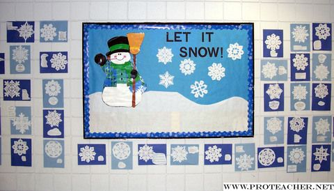 January Bulletin Board Ideas January Let It Snow Bulletin Board January Bulletin Boards Holiday Bulletin Boards Snowman Bulletin Board