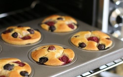 Grab-n-Go Pancake Muffins TheNourishingHome *But with egg replacement clean recipe eatclean healthy